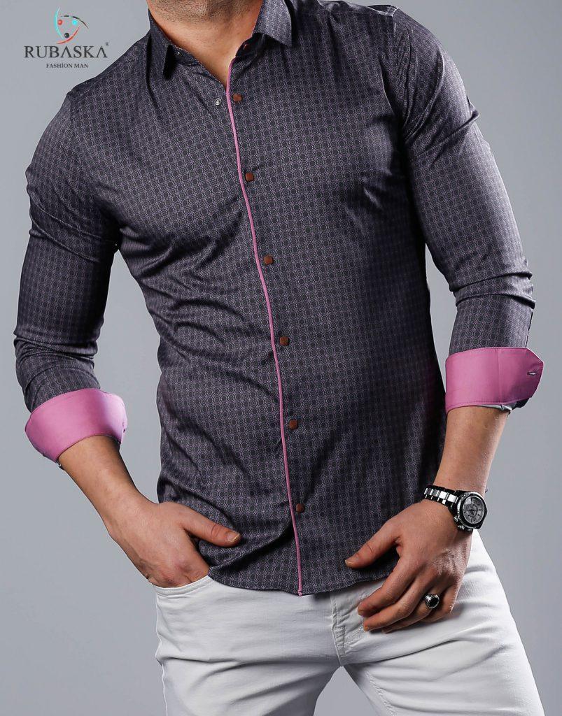 b1fb3a05fa0eba5 Стильная мужская рубашка с длинным рукавом (Турция), новинка 2019 года