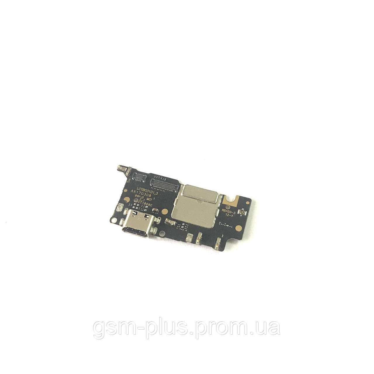 Разъем зарядки Xiaomi Mi5c (с платкой)