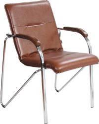 Офисные кресла для персонала Самба WOOD chrome В-19