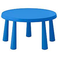 IKEA MAMMUT (903.651.80) Детский стол, синий