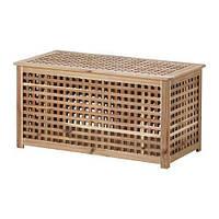 "IKEA ""ХОЛ"" Придиванный столик, акация"