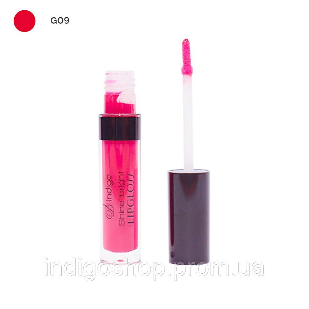 Блеск для губ Shine Bright Lipgloss IndigoDi (4 гр) 09