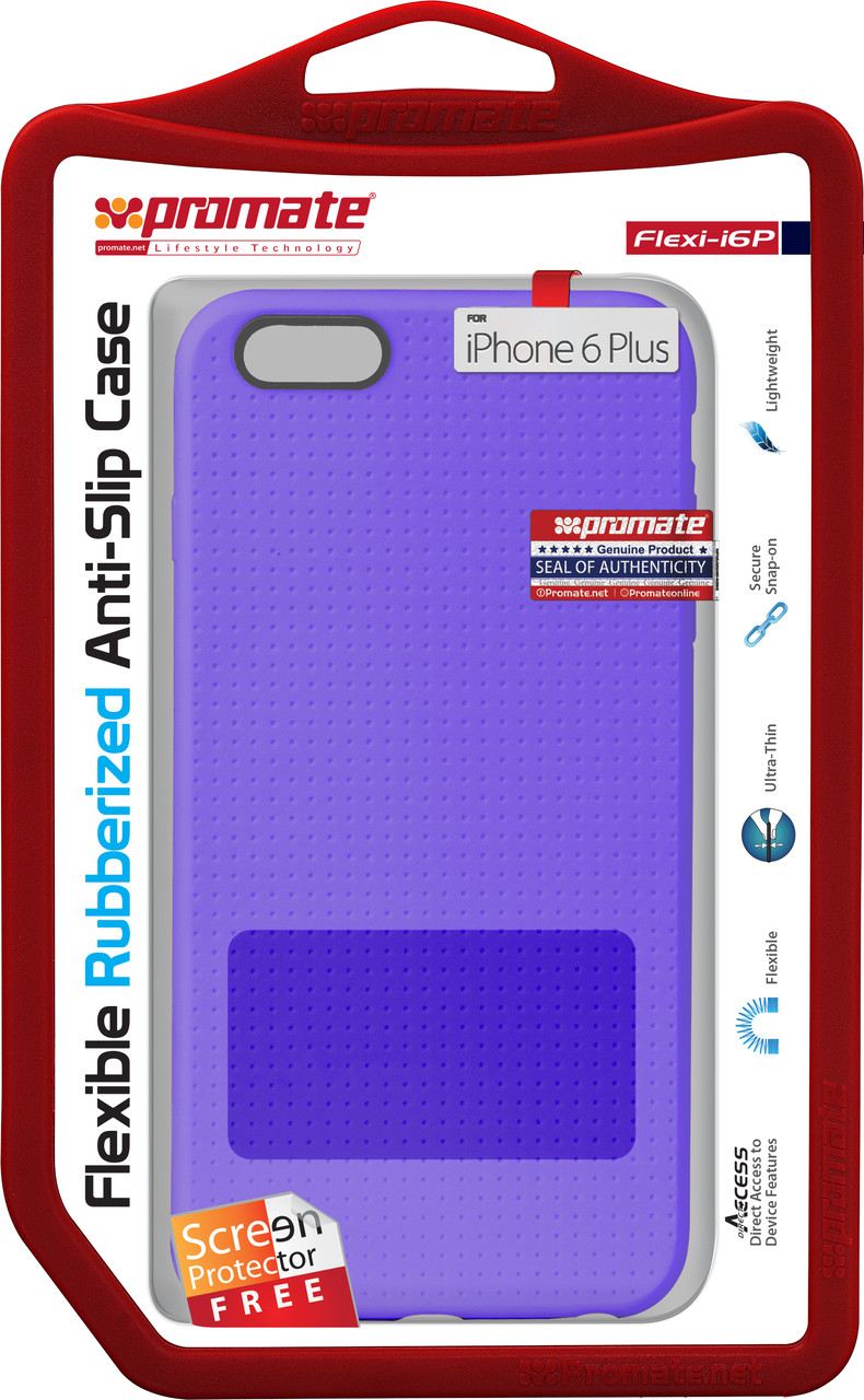 Чехол для iPhone Promate Flexi-i6P Purple