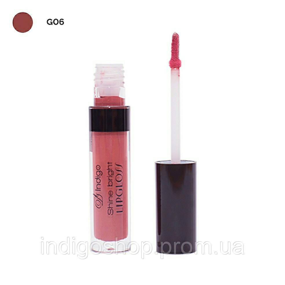 Блеск для губ Shine Bright Lipgloss IndigoDi (4 гр) 06