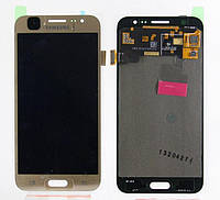 Дисплей Samsung Galaxy J5 SM-J500F complete with touch Gold (TFT)