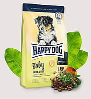 Happy Dog Supreme Baby Lamb & Rice 10кг - корм на основе ягненка для щенков с 1 месяца
