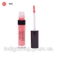 Блеск для губ Shine Bright Lipgloss IndigoDi (4 гр) Цвет  03