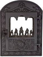 Печные дверцы DELTA Barokk 380х500 Дверца чугунная для печи и камина