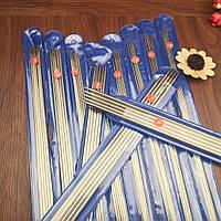 Комплект спиць для в'язання, панчішні, 25 см (11 наборів). Комплект чулочных спиц для вязания 25cv