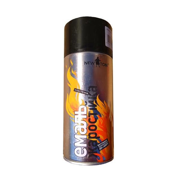 Фарба жаростійкий вогнетривка +600С чорна