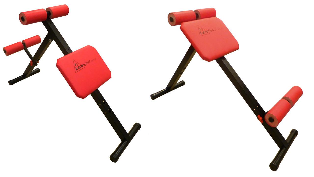 Скамья универсальная для пресса и мышц спины Леко Leco-IT Home