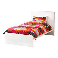 """IKEA""""МАЛЬМ""""Каркас кровати, высокий, белый, 90*200 см."""