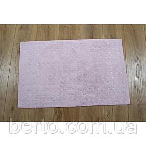 Коврик  для ванной комнаты Irya - Esta розовый 60*110