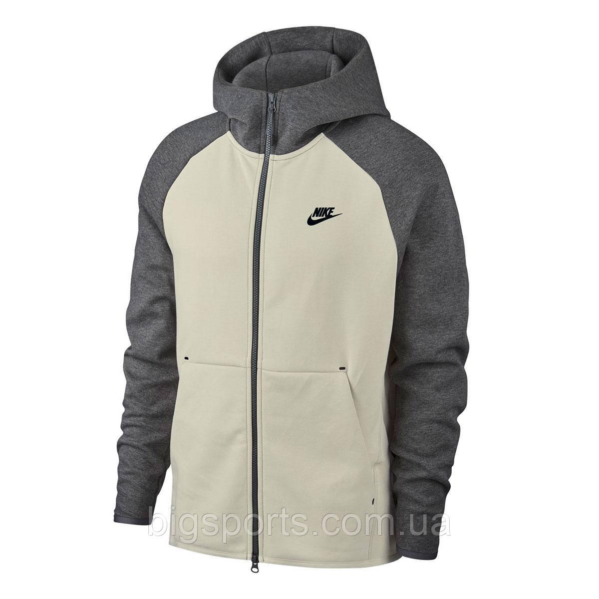 92da1720 Кофта муж. Nike M Nsw Tch Flc Hoodie Fz (арт. 928483-072): продажа ...