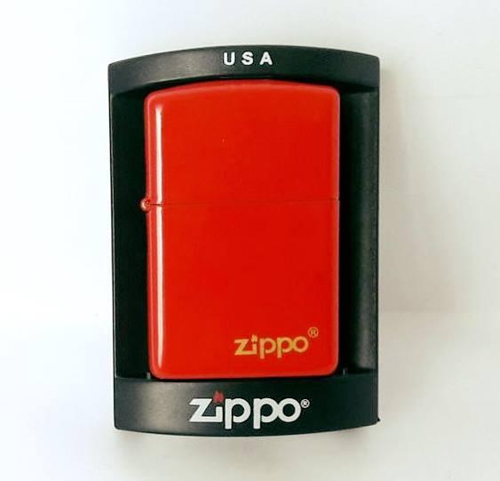 Зажигалка ZIPPO Бензиновая (красная)