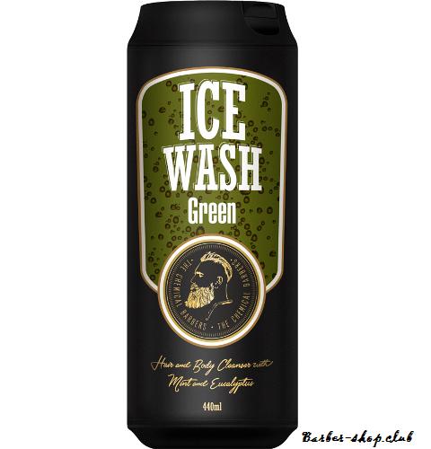 The Chemical Barbers Ice Wash Green - Тонізуючий гель для душу з м'ятою та евкаліптом