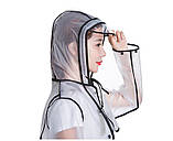 Женский плащ дождевик ПВХ, фото 7