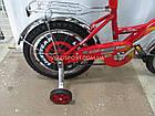 Детский велосипед Mustang Тачки 18 дюймов черно-красный, фото 5