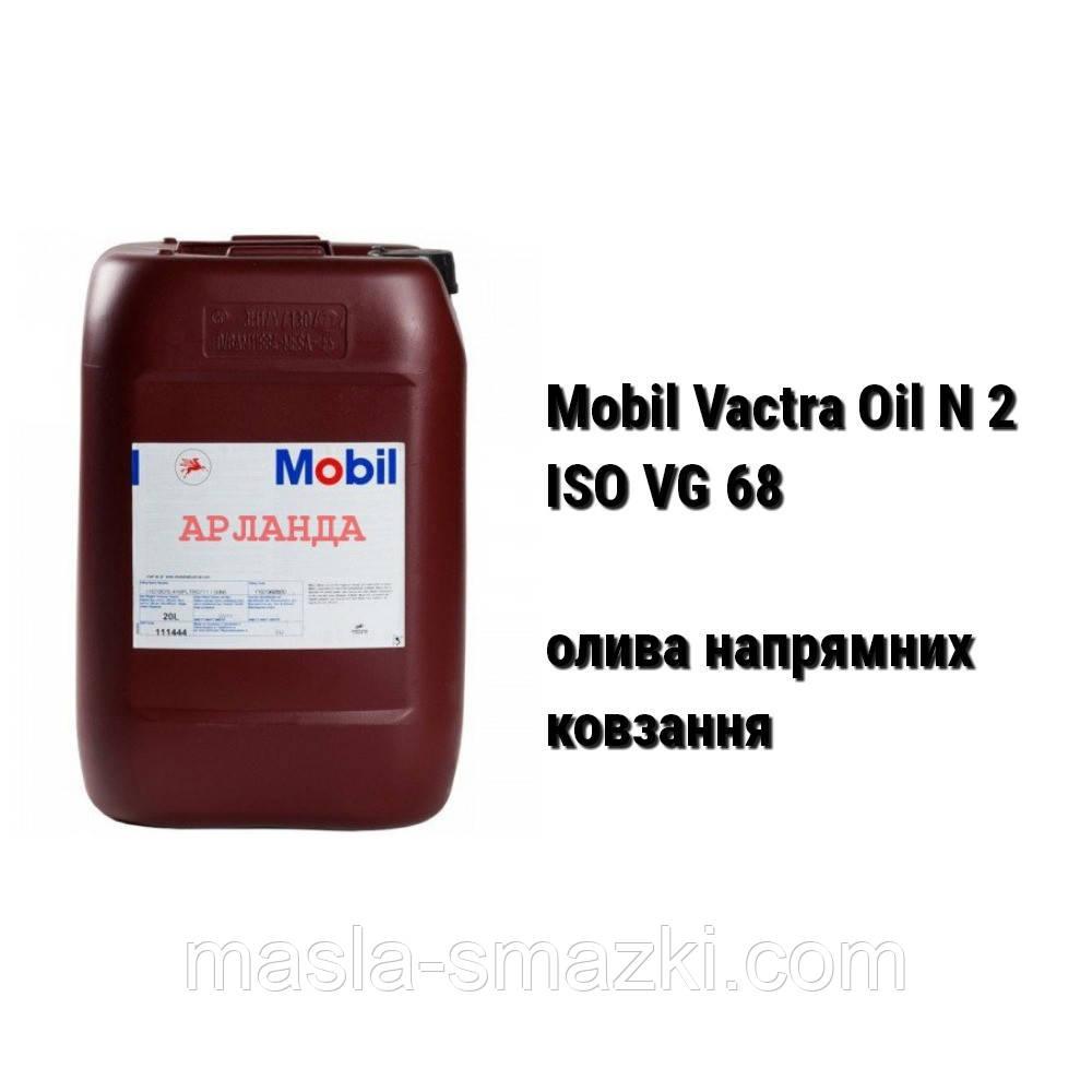 Mobil Vactra Oil № 2 (ISO VG 68) олива індустріальна для верстатів, напрямних ковзання (20 л)