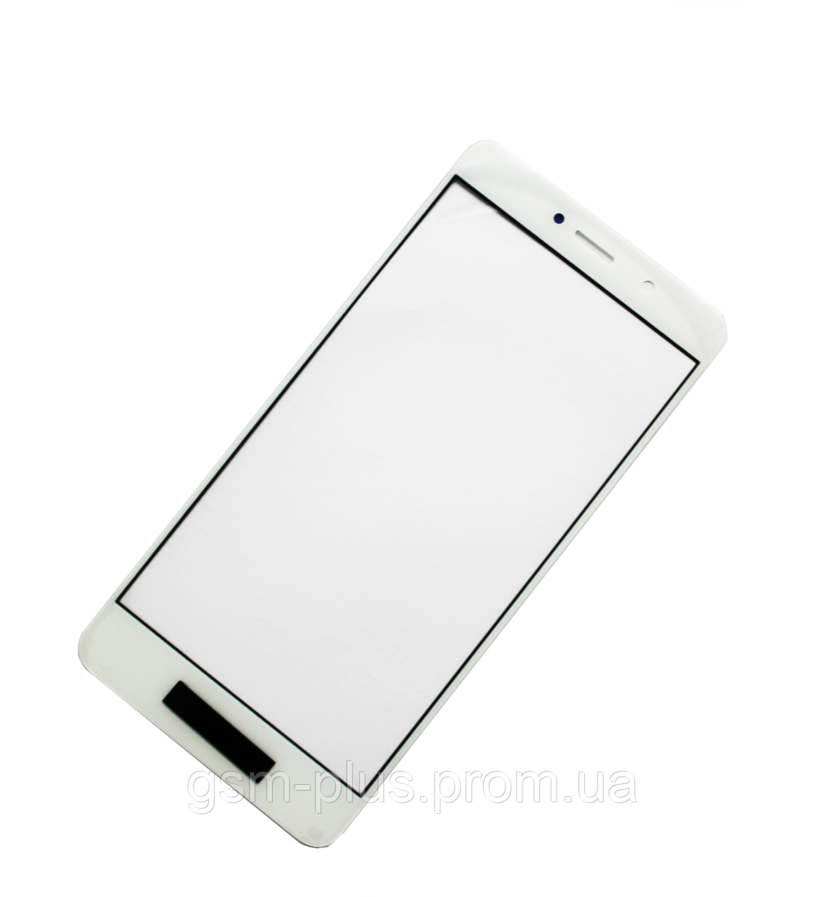 Стекло дисплея Huawei Y7 (2017) (TRT-LX1) White (для переклейки)