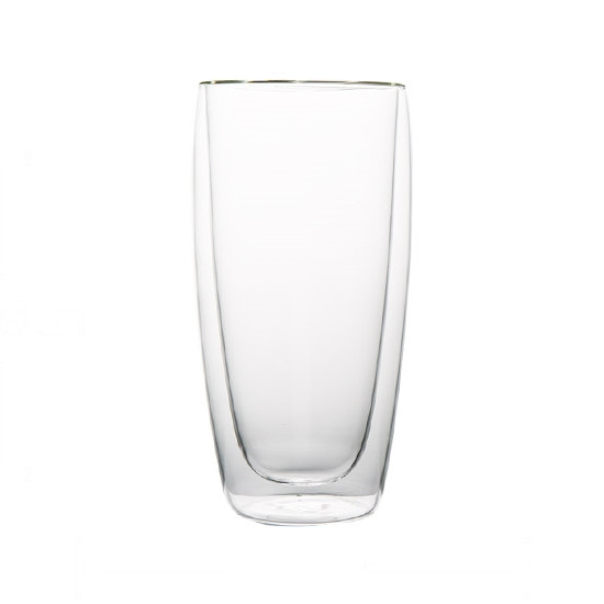 Стеклянный стакан с двойными стенками, 450 мл