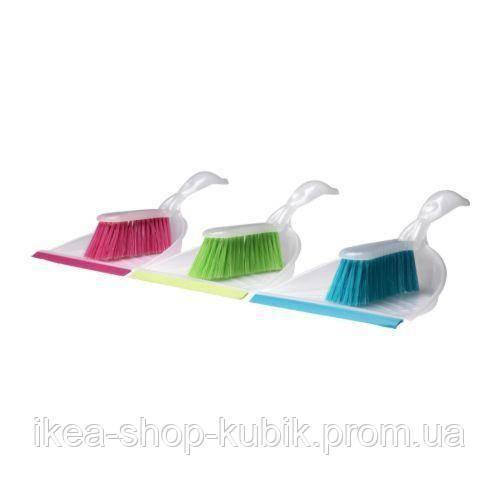 БЛАСКА Набір для прибирання малий, різні кольори