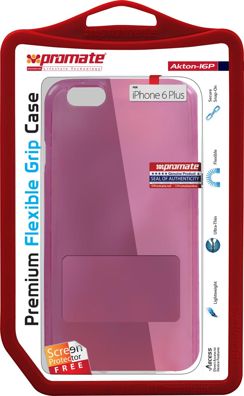 Чехол Promate Akton-i6P для Apple iPhone 6 Plus/6s Plus Pink