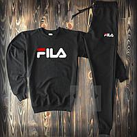 Спортивный костюм Fila черного цвета