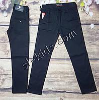 Котонові штани,джинси для хлопчика 6-10 років(чорні 02) опт пр. Туреччина