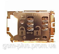 Сим коннектор для Nokia 202 / 305 / 306 / C2-00 / C2-03 / C2-06 / C2-08 / X2-02 SIM 2