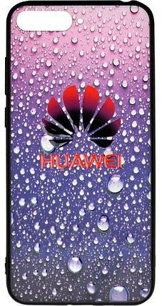 Накладка Huawei Y6 Prime (2018)/Honor7A Pro 3D Rain, фото 2