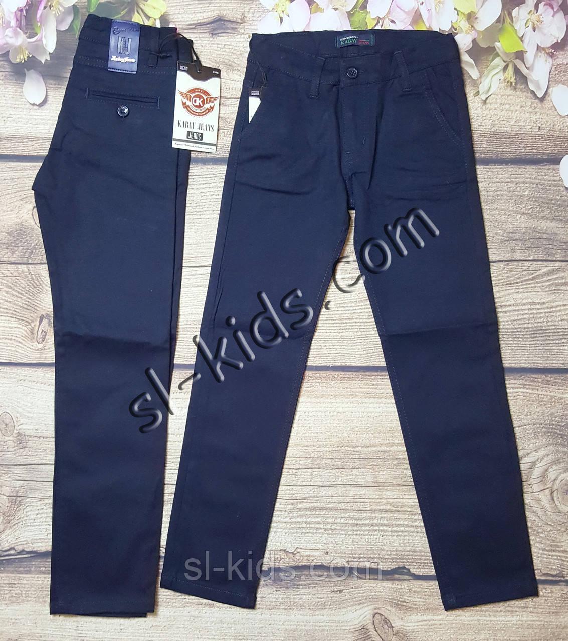 Котонові штани,джинси для хлопчика 11-15 років(темно сині 02) опт пр. Туреччина