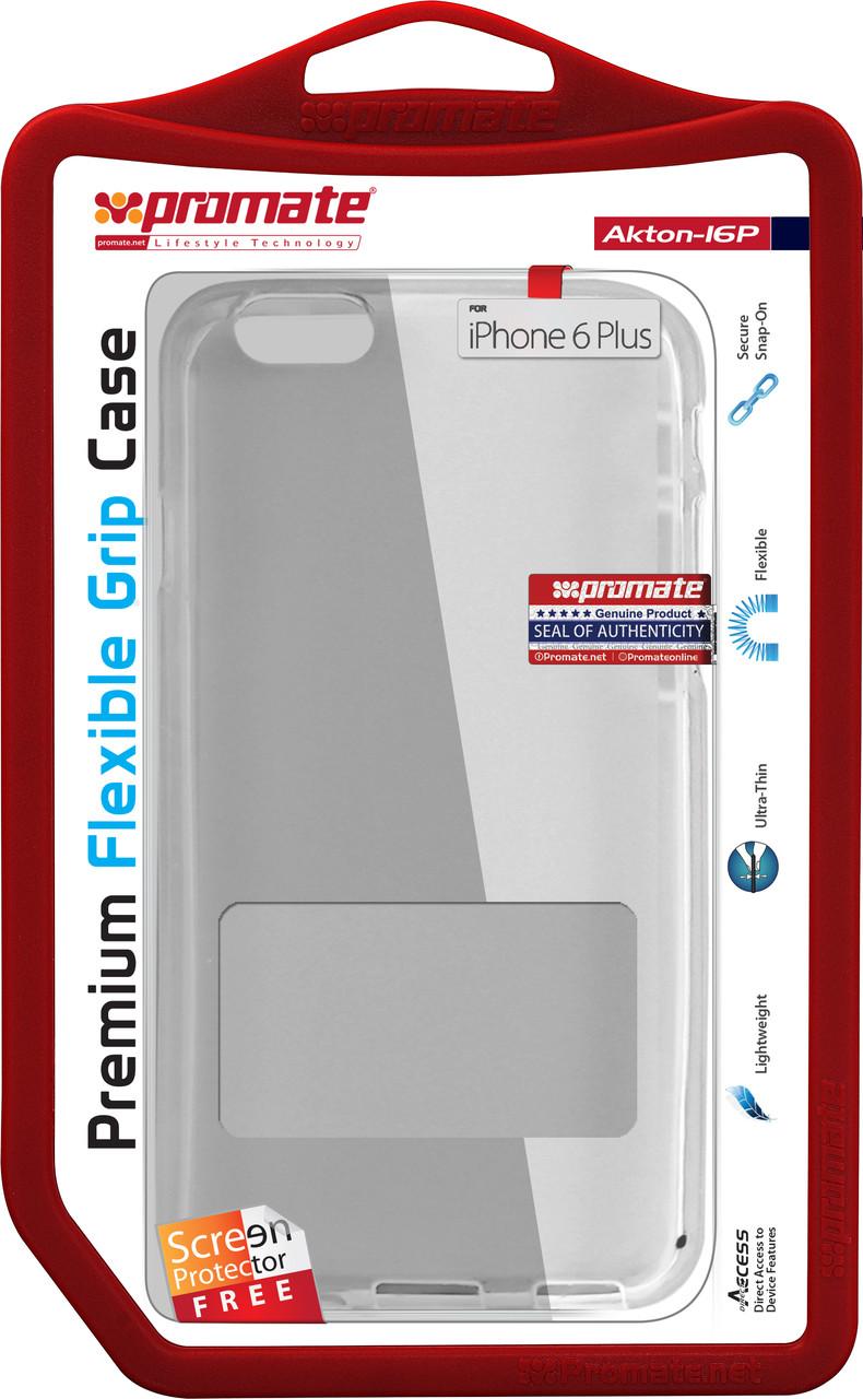 Чехол Promate Akton-i6P для Apple iPhone 6 Plus/6s Plus White