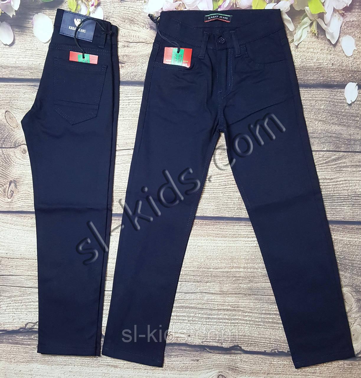 Штаны,джинсы для мальчика 6-10 лет(темно синие) розн пр.Турция