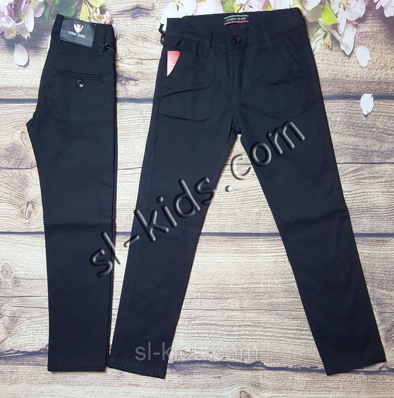 Штаны,джинсы для мальчика 6-10 лет(черные 02) розн пр.Турция