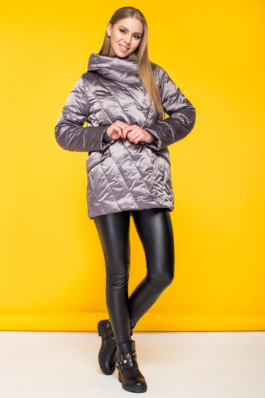 Женская демисезонная куртка BatterFlei BTF 1986-2 кофе - новая коллекция Весна/Осень - 2019