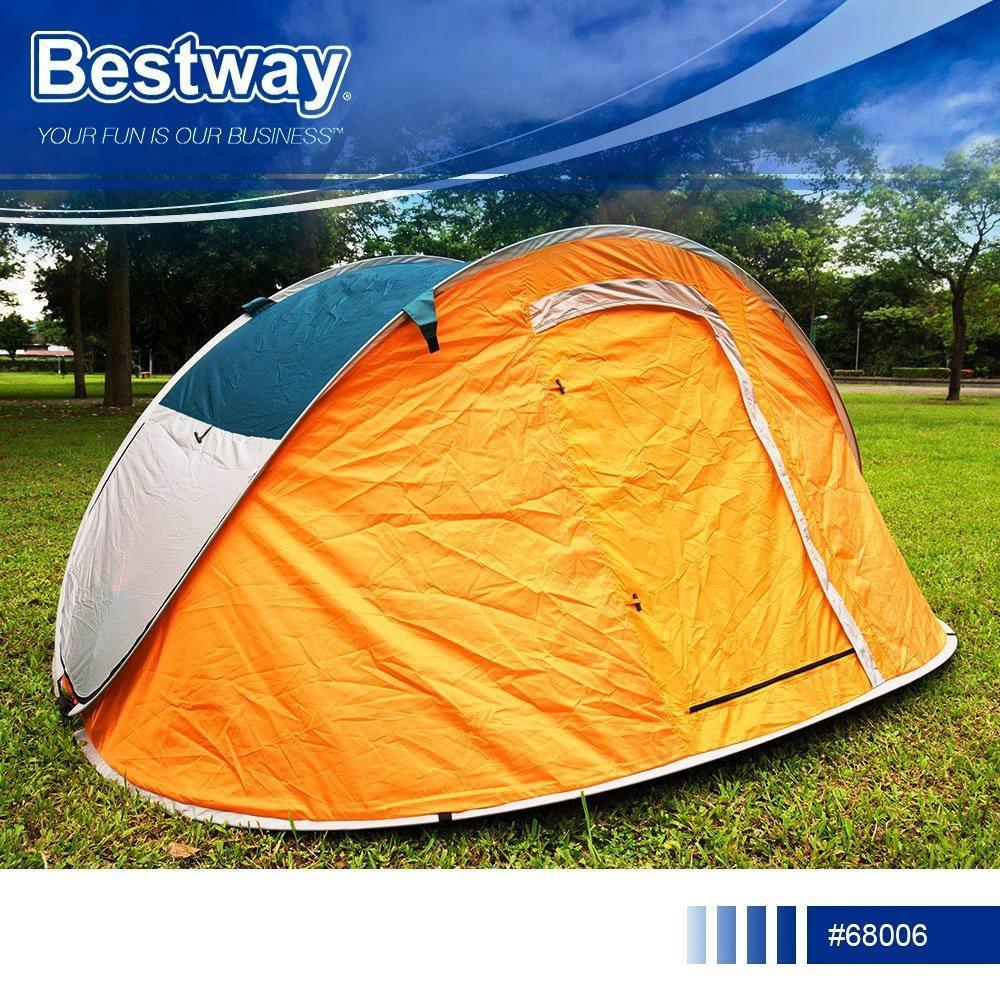 Палатка туристическая четырехместная Bestway 68006 Nucamp Высокое качество