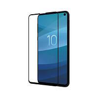 Стекло Nillkin Anti-Explosion Glass c защитной панелью для Samsung Galaxy S 10e чёрное