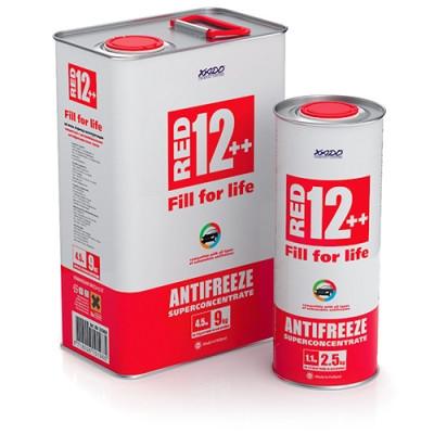 Антифриз Red 12++ (суперконцентрат) ХАДО ( відро 20 л)