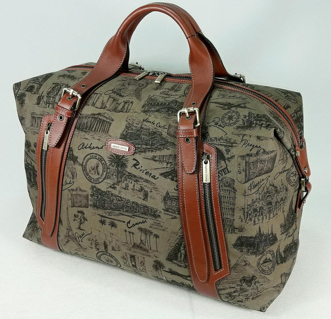 Дорожная  сумка FC-0819-P6L4 бренда FRANCO CESARE
