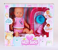 Кукла FALCA 41053 С АКСЕССУАРАМИ И ВАННОЧКОЙ (ПЬЕТ И ПИСАЕТ) 40 СМ    производство Испания