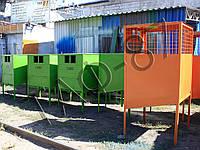Баки для раздельного сбора мусора (ТБО, ПЭТ, СТЕКЛО)