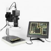 Видеомикроскоп с монитором BAKKU BA-003 (подсветка люминесцентная, фокус 30-156 мм,Box (330*265*200) 2,8 кг