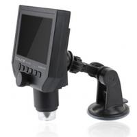"""Видеомикроскоп BAKKU BA-006 с дисплеем 4,3 """", увеличение 1-600X, 3.MP,Black, Память 8Гб (208*170*80) 0,5 кг"""