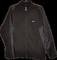 Мужская флисовая кофта-куртка Nike,размер L