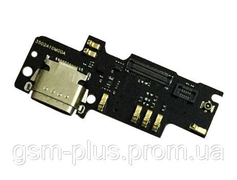 Разъем зарядки Xiaomi Mi4c (с платкой)
