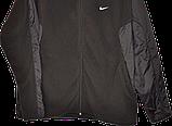Мужская флисовая кофта-куртка Nike,размер L, фото 3