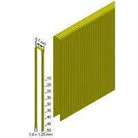 Скоба каркасная (столярная) Prebena типа 21мм (3,6 тис. шт.), 5,7х1,0х1,25мм, E-21 x 3,6