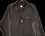 Мужская флисовая кофта-куртка Nike,размер L, фото 5