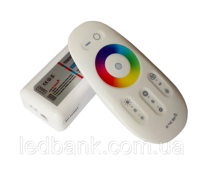 RGBW контроллер сенсорный 24А 2.4G RF